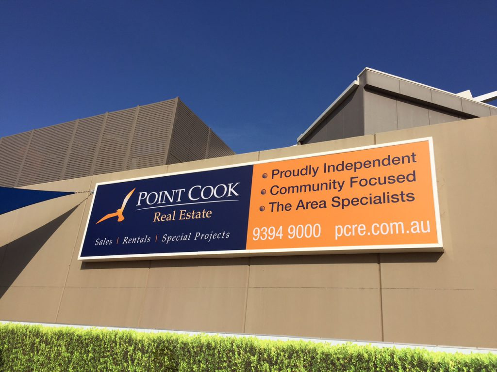 Outdoor advertising signage. Design, Print & Install.