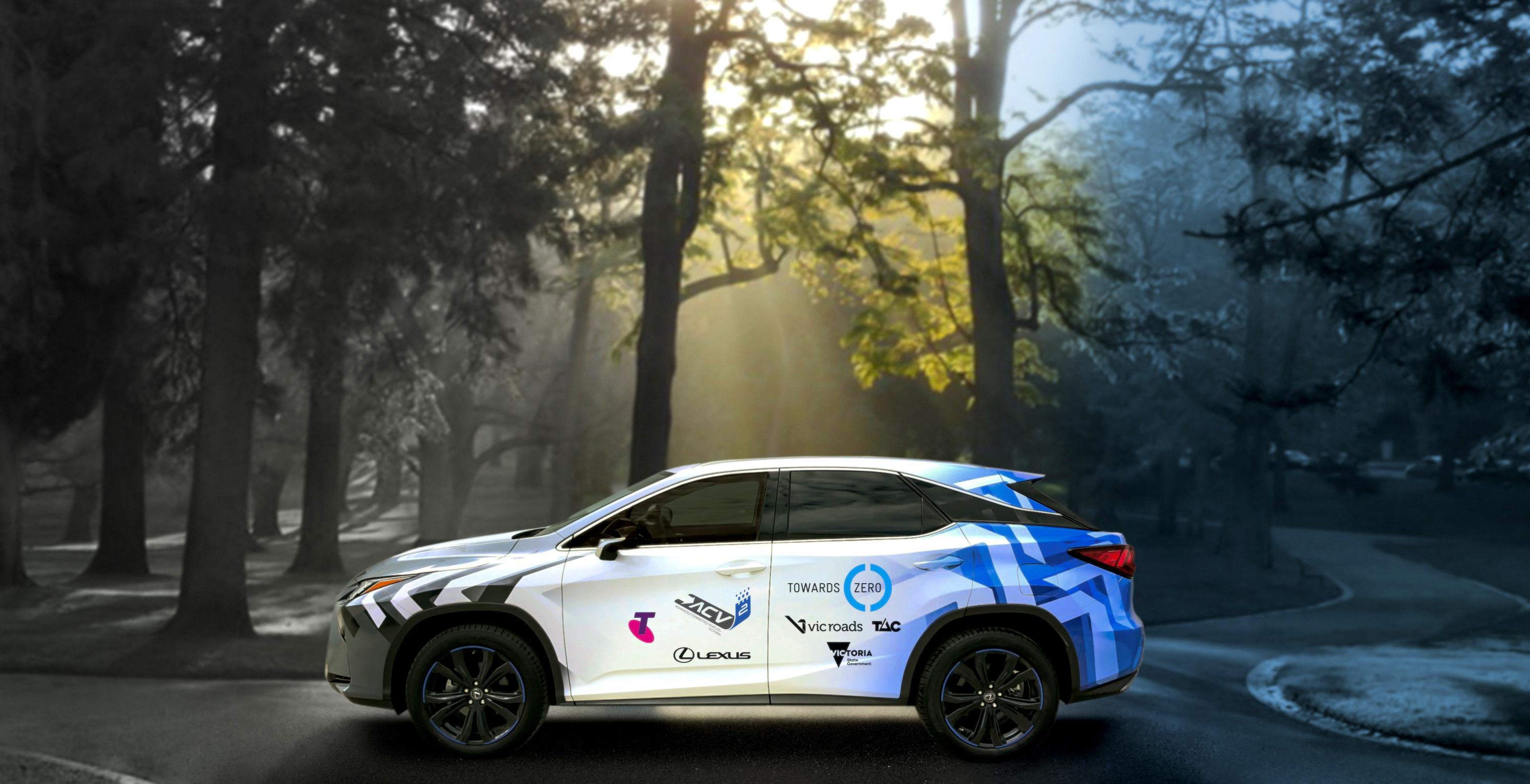 Lexus 'connected vehicles' wrap project