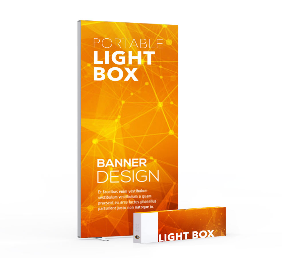 Advertising light boxes Australia. Backlit graphic lightboxes