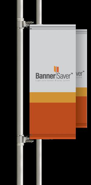 BannerSaver Light Pole Banner Brackets