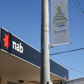 Yarrawonga City Council Advertising Banners using Bannersaver light pole bannet brackets