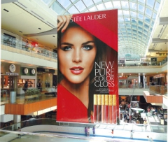 Banners, Posters, Hanging Systems, Winches for Shopping Centres, Malls and the like.