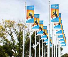 Banners, Branded Flags for Events. Festival & Event Flags & Banner Printing